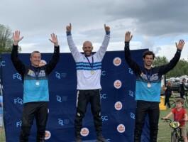 Podium Championnats québécois 2021 - Catégorie 35 ans + masculin