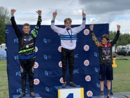 Podium Championnats québécois 2021 - Catégorie 14 ans masculin