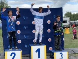 Podium Championnats québécois 2021 - Catégorie 12 ans masculin