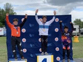 Podium Championnats québécois 2021 - Catégorie 11 ans masculin