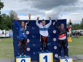 Podium Championnats québécois 2021 - Catégorie 17-24 ans féminin