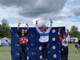 Podium Championnats québécois 2021 - Catégorie 15-16 ans féminin
