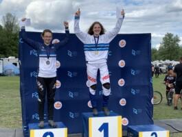 Podium Championnats québécois 2021 - Junior 17-18 ans féminin