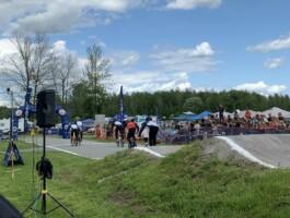 La piste de BMX située à Coteau-du-Lac