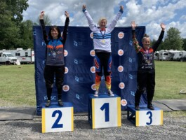 Podium Championnats québécois 2021 - Catégorie Cruiser 30 ans + féminin