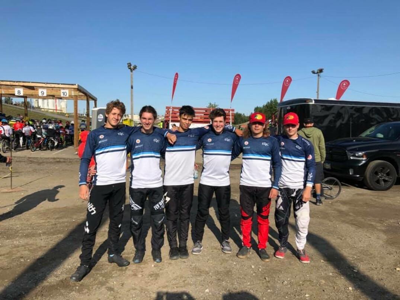 Québécois présents lors de la série Coupe Canada BMX à Calgary