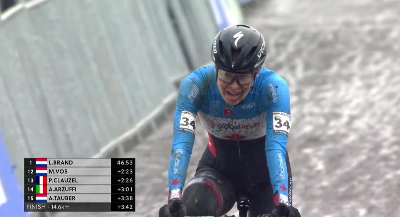 Maghalie Rochette complète les Mondiaux 2021 à Ostende en 16e place.