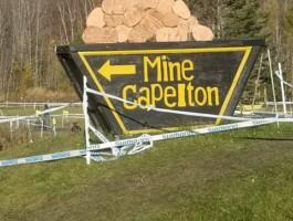 Le parcours de la Mine Capelton est spectaculaire