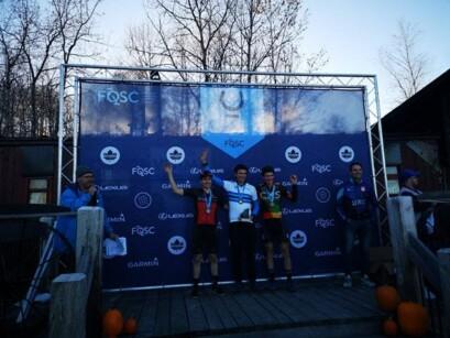 Les Championnats québécois de cyclo-cross se tenaient samedi dernier