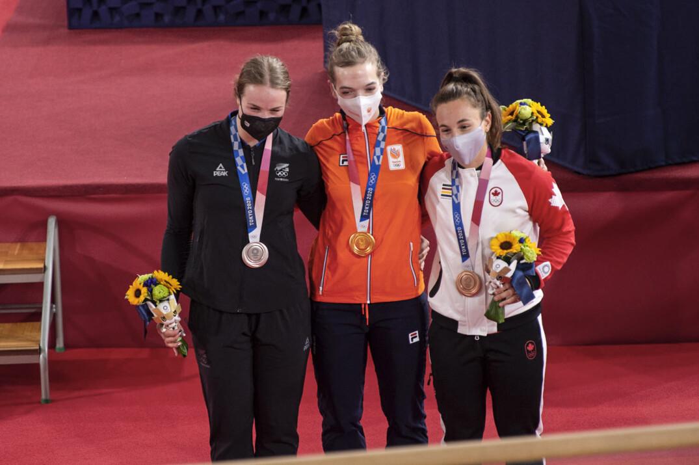 Lauriane Genest Fqsc Bronze Medaille Keirin F