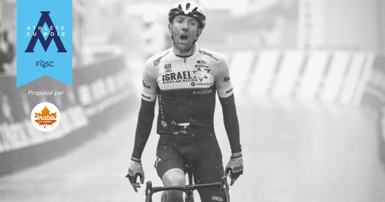 Michael Woods a remporté la quatrième étape du Tour de Romandie.
