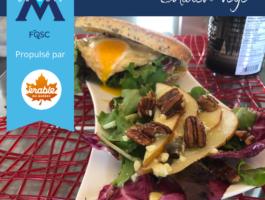 202107 Insta Cuisinier Sandwich Western Salade