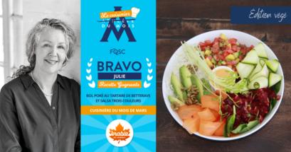 Nouvelle Cuisinier Mois Mars Julie Barbeau