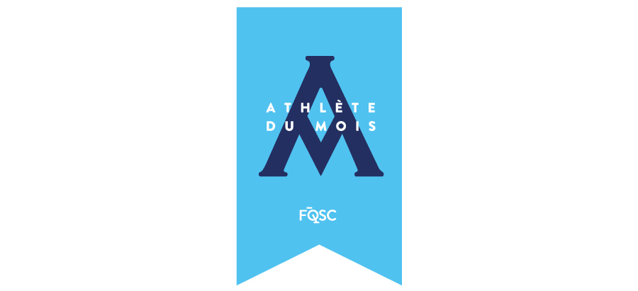 Logo Athlete Du Mois Outlines