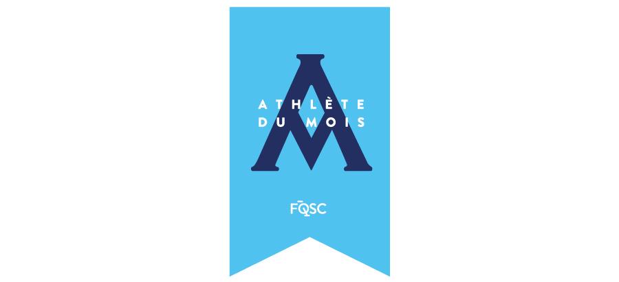 Logo Athlete Du Mois Outlines