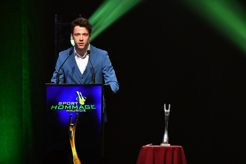 Mathias Guillemette mérite le titre d'athlète masculin par excellence niveau canadien - sport individuel.