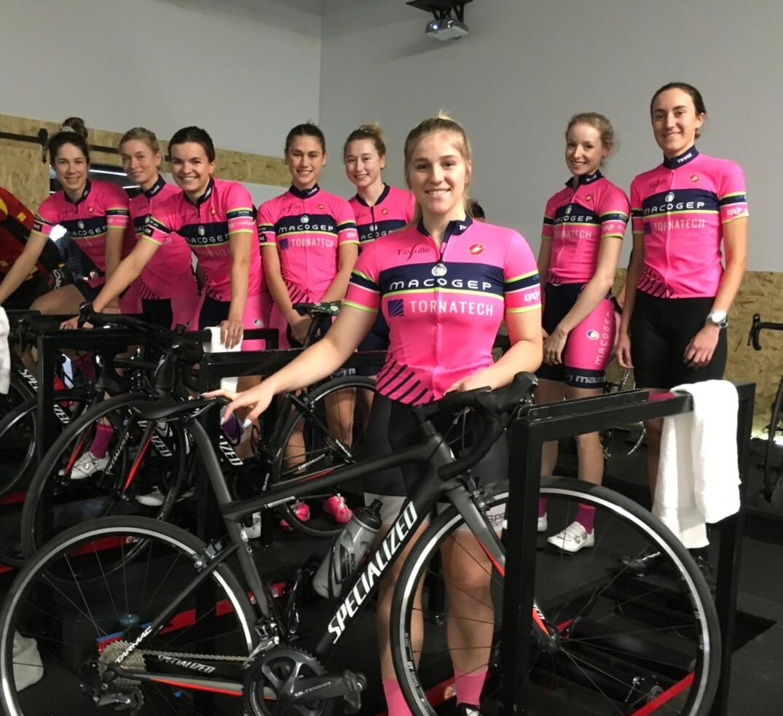 Équipe cycliste Macogep-Tornatech-Specialized propulsée par Mazda