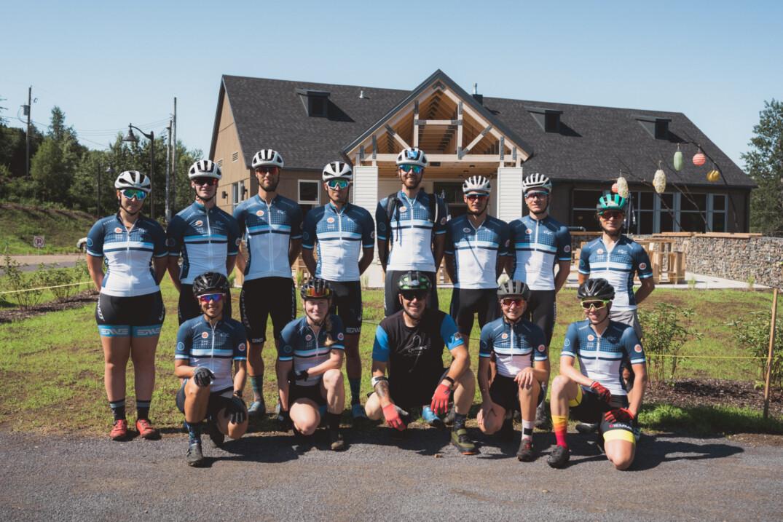 Membres de l'équipe du Québec présents au camp d'entraînement. Crédit photo : Guillaume Milette Photographe