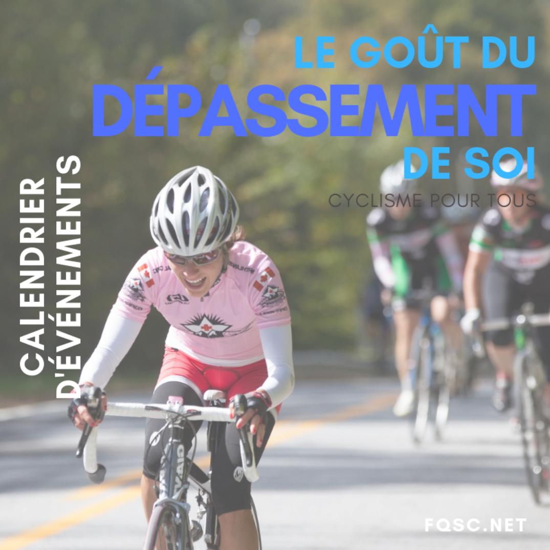 Cyclosportive Calendrier.Calendrier Pour La Saison 2019 Cyclisme Pour Tous