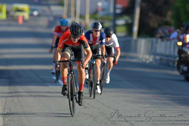 Samuel Rathé a terminé en 6e place du Challenge Sprint