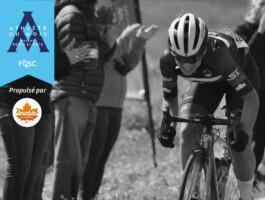 Clémence Cousineau est nommée athlète relève du mois d'août en cyclisme sur route.