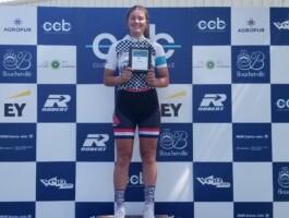 Coralie Levesque (Espoirs de Laval Primeau Vélo), championne U17