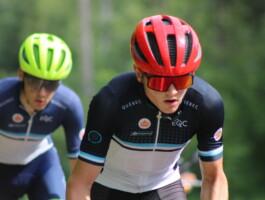 Les coureurs en action lors du camp de Bromont