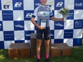 Justin Roy (CC Boucherville-Vélo 2000), champion U15
