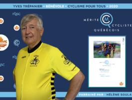 Yves Trépanier nommé bénévole de l'année en Cyclisme pour tous (CPT).