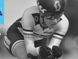 Britanie Cauchon a remporté le titre de l'athlète de la relève du mois de septembre en cyclisme sur route et piste.           Crédit Photo : Michel Guillemette