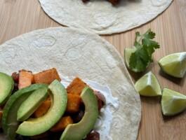 Recette Finale Gm Burritos Haricots Noirs Erable