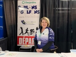 Une des organisatrices d'un événement licencié en Cyclisme pour tous pour la saison 2020.