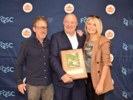 Yves Blouin et ses deux accolytes Chantal Lachance et Patrice Drouin