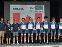 La délégation québécoise pour le Tour de l'Abitibi 2019