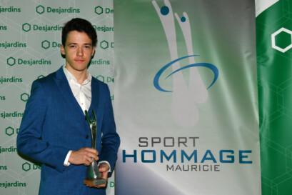Mathias Guillemette est reparti avec le trophée.