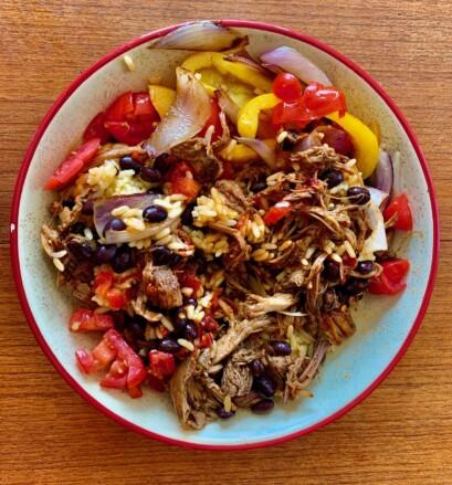 Burrito Bowl Porc Effiloche