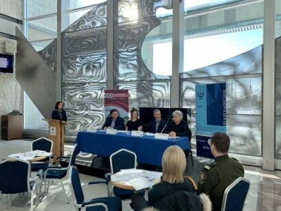 La conférence de presse pour la tenue des Provinciaux en cyclisme sur route Élites à Baie-Comeau.