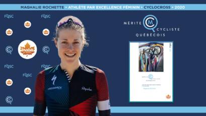Maghalie Rochette nommée athlète féminine par excellence de l'année en cyclocross.