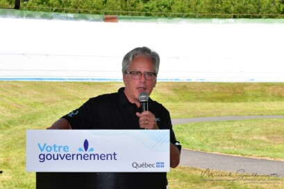 Le président du conseil d'administration de la FQSC, M. André Michaud, qui prend la parole au nom de la FQSC.