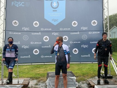 Podium Paracyclisme Categorie M