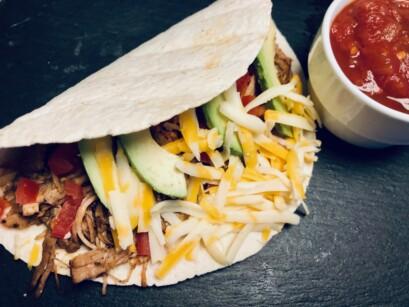 Tacos Porc Effiloche