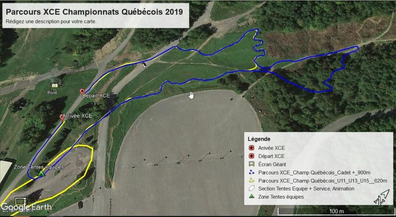 Parcours Xce Championnat Quebecois 2019