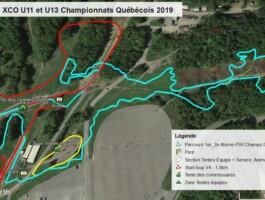 Parcours Xco Atome Pee Wee 210 Km Championnat Quebecois 2019