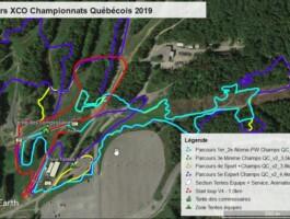 Parcours Xco Championnat Quebecois 2019
