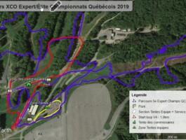 Parcours Xco Expert 44Km Championnat Quebecois 2019