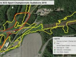 Parcours Xco Sport 380 Km Championnat Quebecois 2019