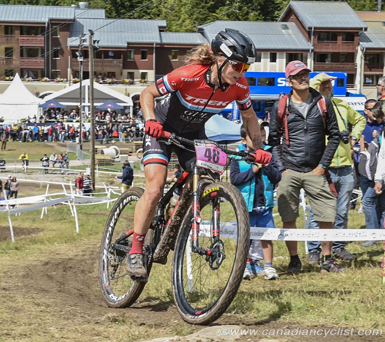 Cindy Montambault Wc La Bresse 2018 Credi Canadian Cyclist