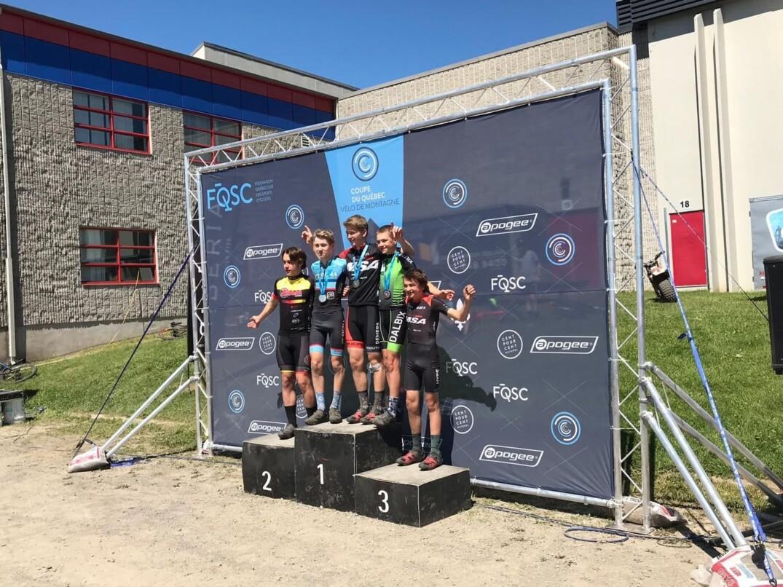 Podium Cadet H U17 Coupe du Québec tranche #7 Charlesbourg