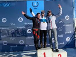 Martine Simard a mis la main sur le prestigieux maillot de championne québécoise chez les maîtres (F).