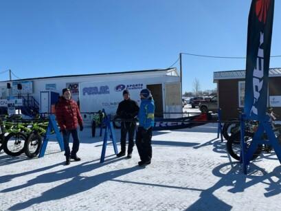 La Caravane qui se promène dans les écoles de la région du Saguenay-Lac-Saint-Jean.